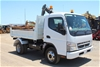 2010 Mitsubishi Canter 4 x 2 Tipper Truck