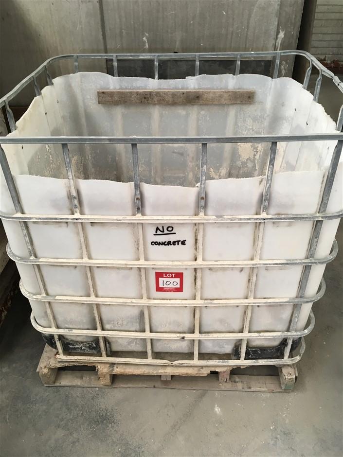Rotating plastic Forklift Bin 1140 (H) x 1250mm (W) x 1150mm (D)