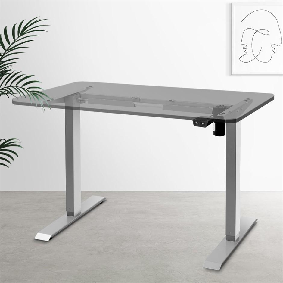 Artiss Standing Desk Sit Stand Riser Height Adjustable Motorised Frame Only