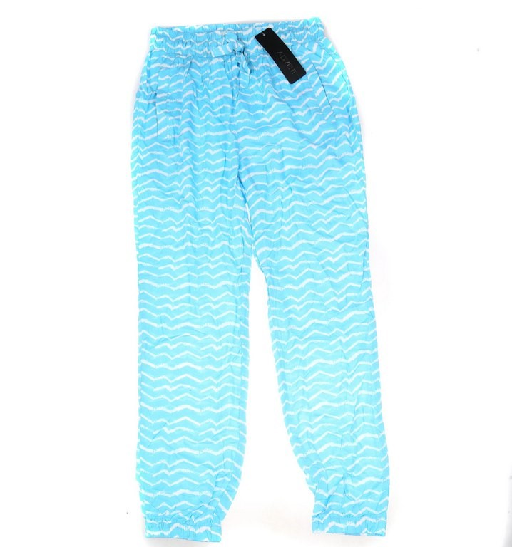 ADVENT Women`s Flowy Comfortable Lounge Pants, with Cuff Ankle, Size S, Zig