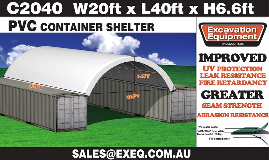 Unused heavy Duty 40ft Container Shelter
