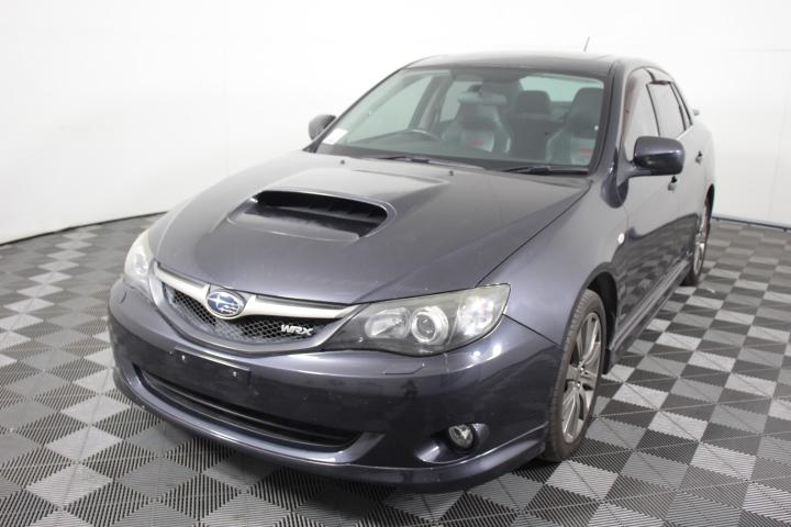 2009 Subaru Impreza WRX Manual Sedan