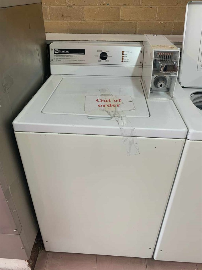 Maytag Commercial Top Loader Washing Machine