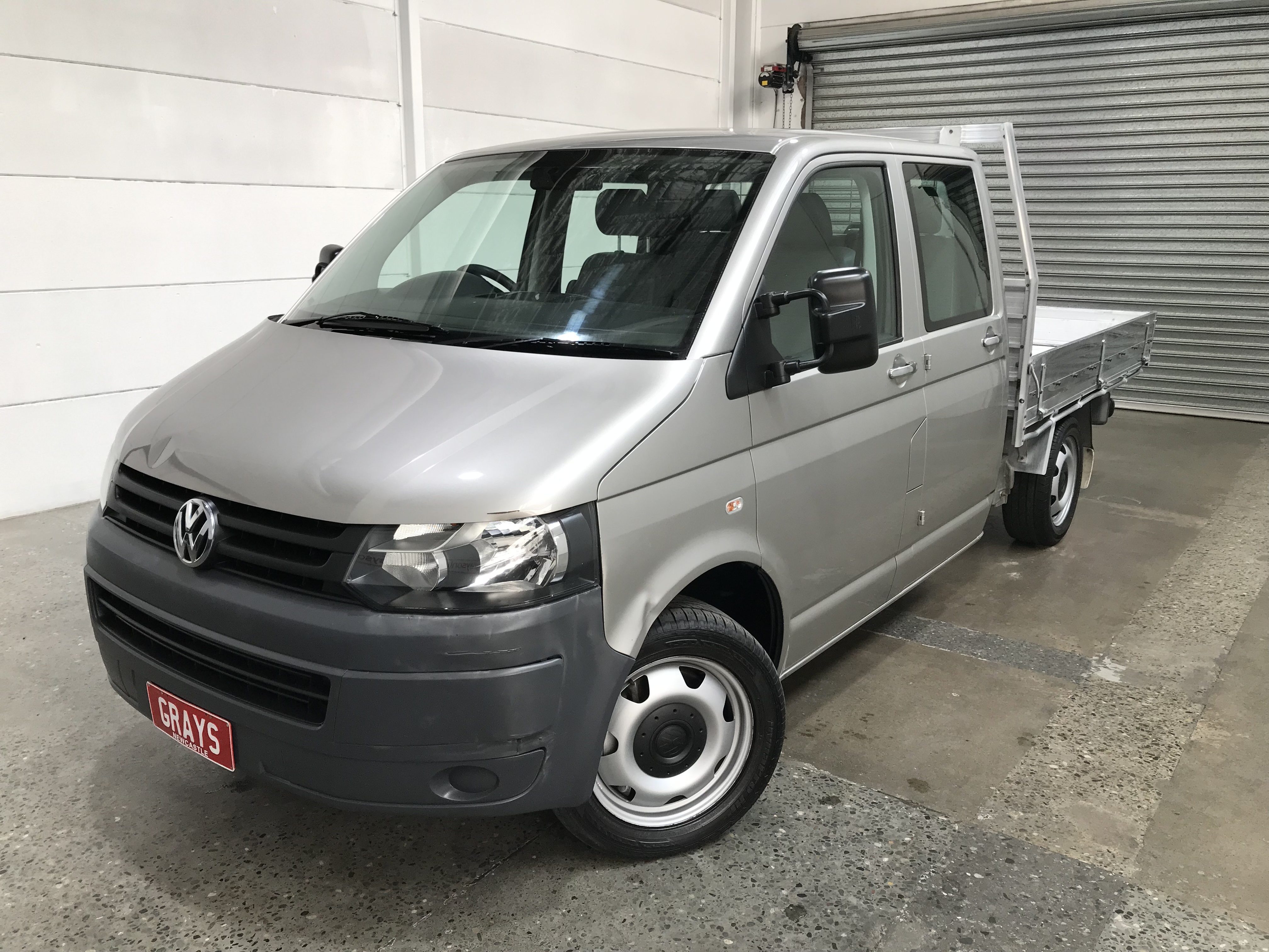 2010 Volkswagen Transporter 132 TDI LWB T5 T/Diesel Auto Crew Cab Chassis