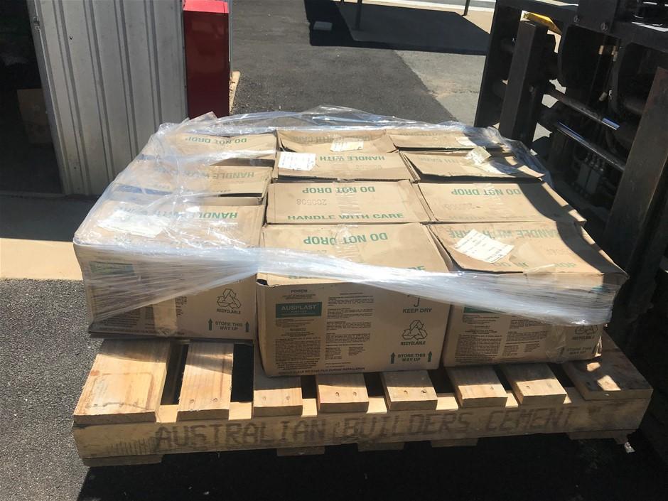 Ausplast Wood Preservative, 11 x rolls (1 roll per box) on a pallet.