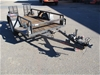 2000 Trailer Factory Single Plant Trailer