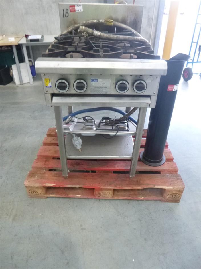 Gas 4 Burner Standing Stove