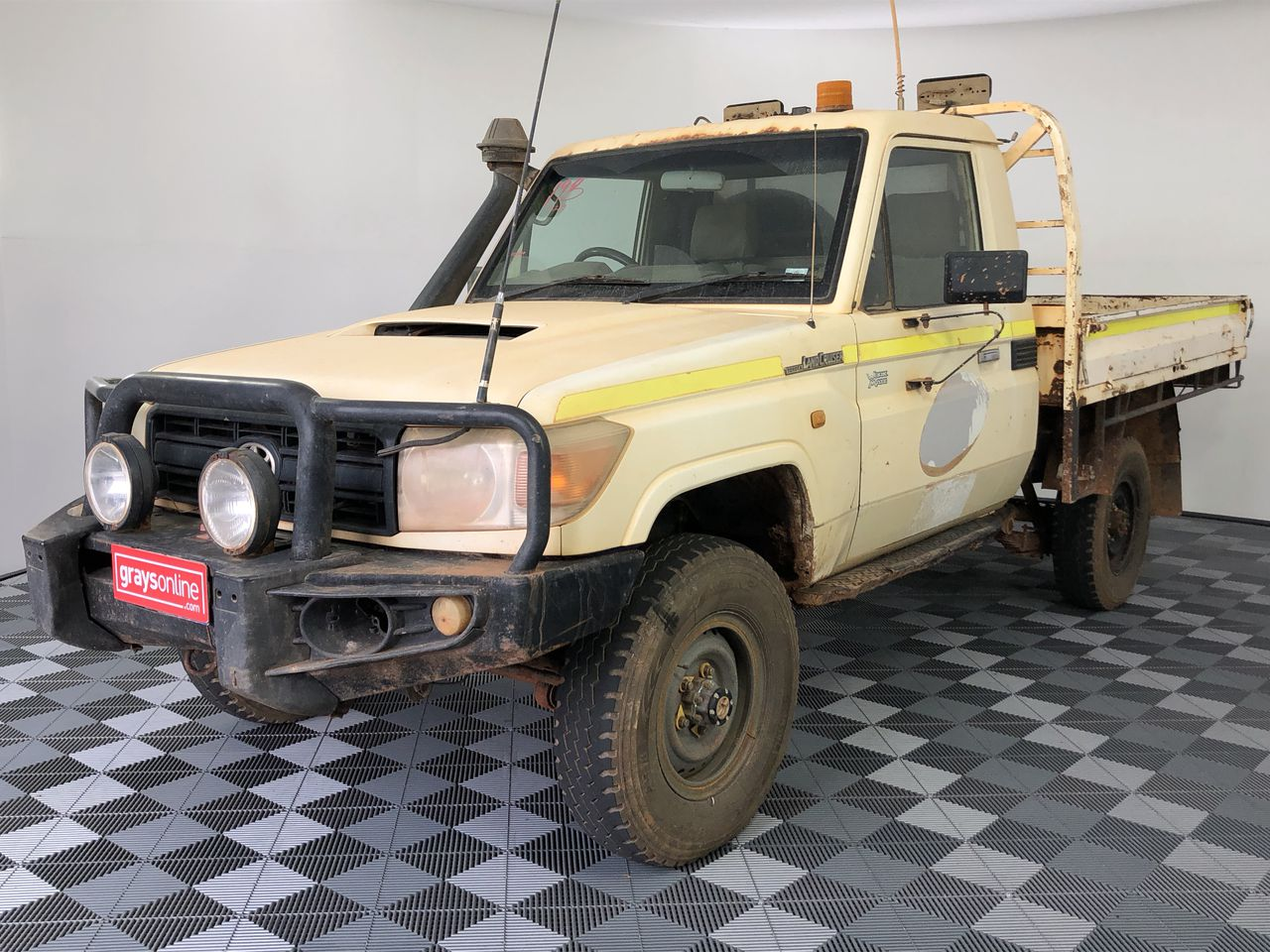 2010 Toyota Landcruiser Workmate (4x4) VDJ79R T/Diesel Manual Cab Chassis