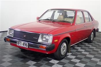 1980 Holden Gemini SL TE Manual Sedan
