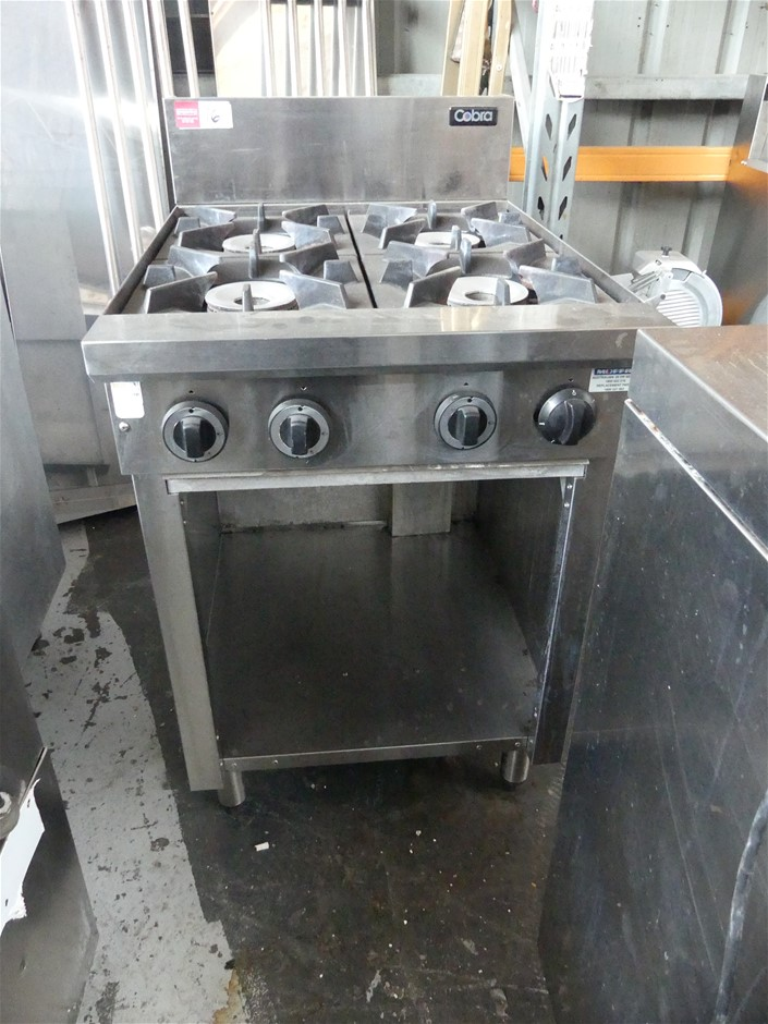 Cobra C6D Free Standing Gas Cooktop with Storage Under