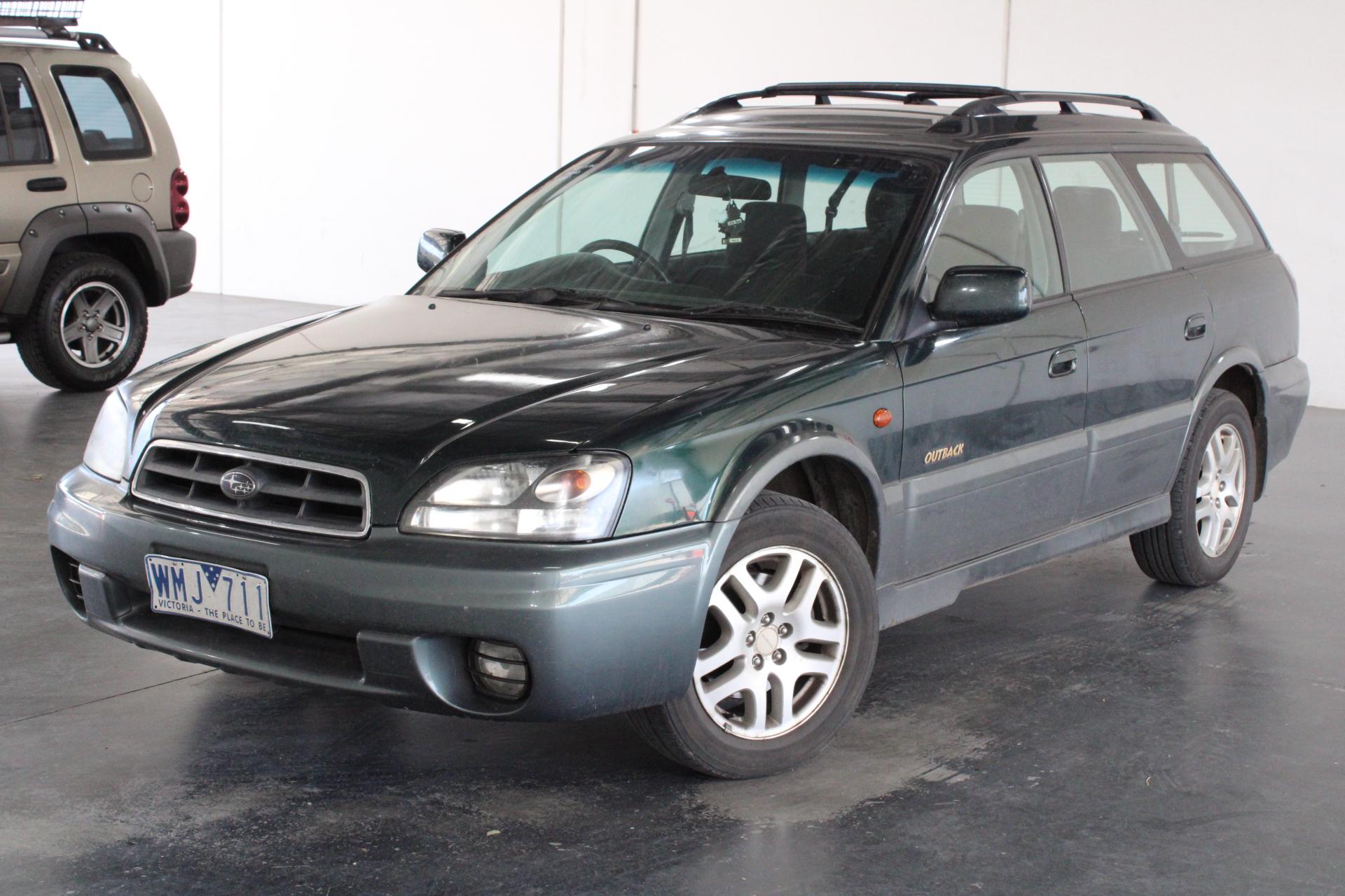 2001 Subaru Outback B3A Automatic Wagon