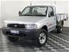 2000 Mazda B2500 Bravo DX (4x4) B2500 Turbo Diesel Manual Cab Chassis