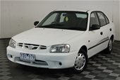 Unreserved 2002 Hyundai Accent GL LS Manual