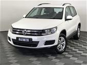 Unreserved 2012 Volkswagen Tiguan 118 TSI (4x2)