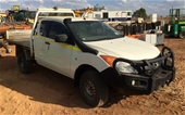Unreserved Mazda BT50 4WD Manual Ute
