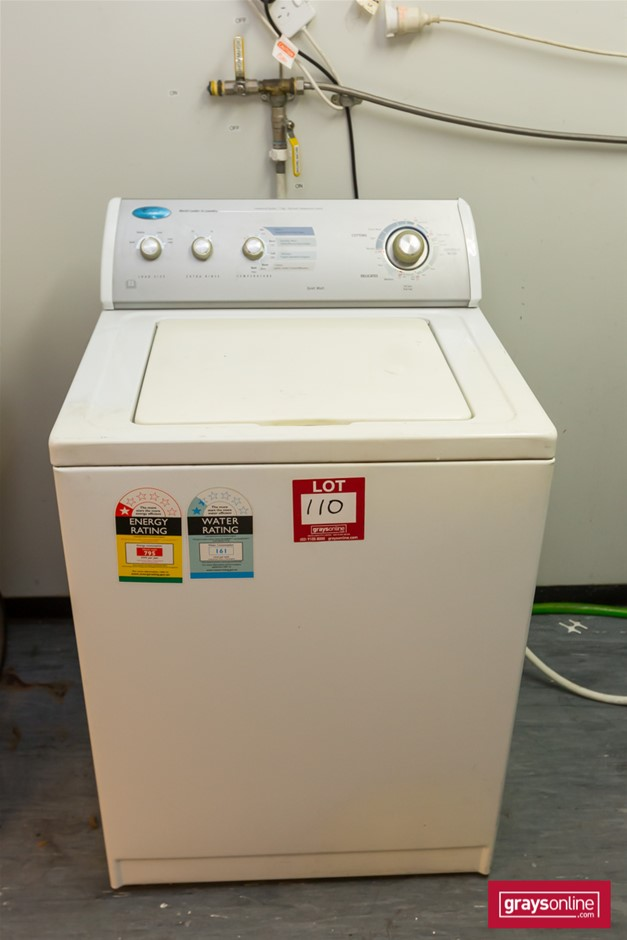 Whirlpool Washing Machine and Low Work Table