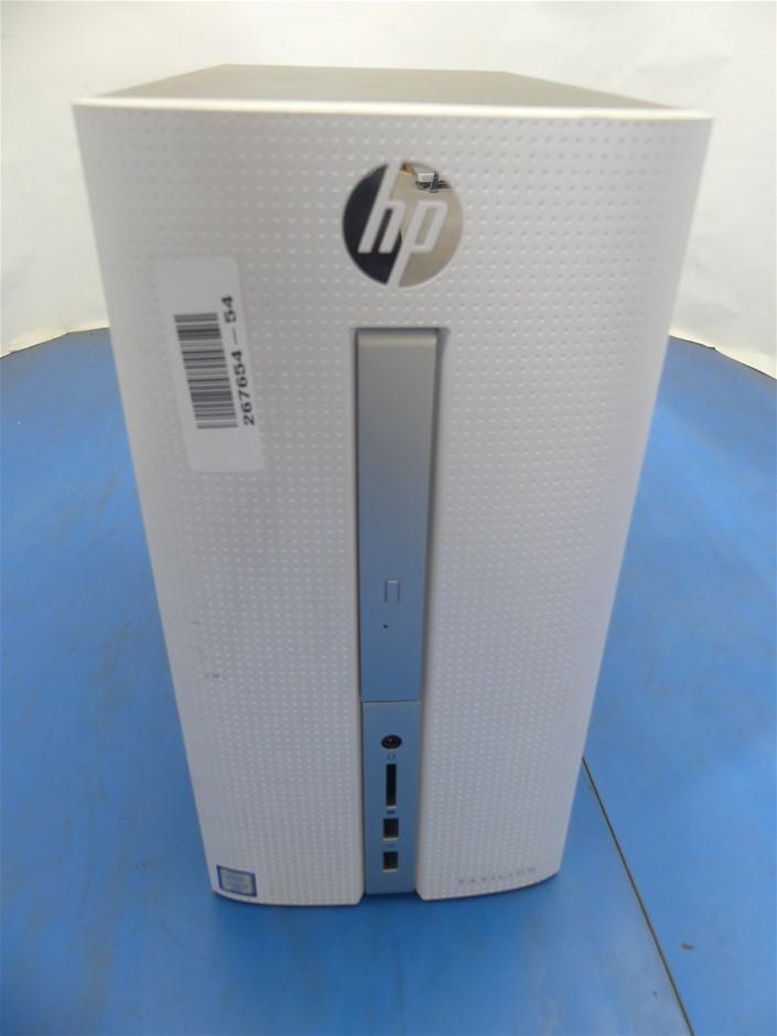 HP 510-p058a Mini Tower Desktop PC