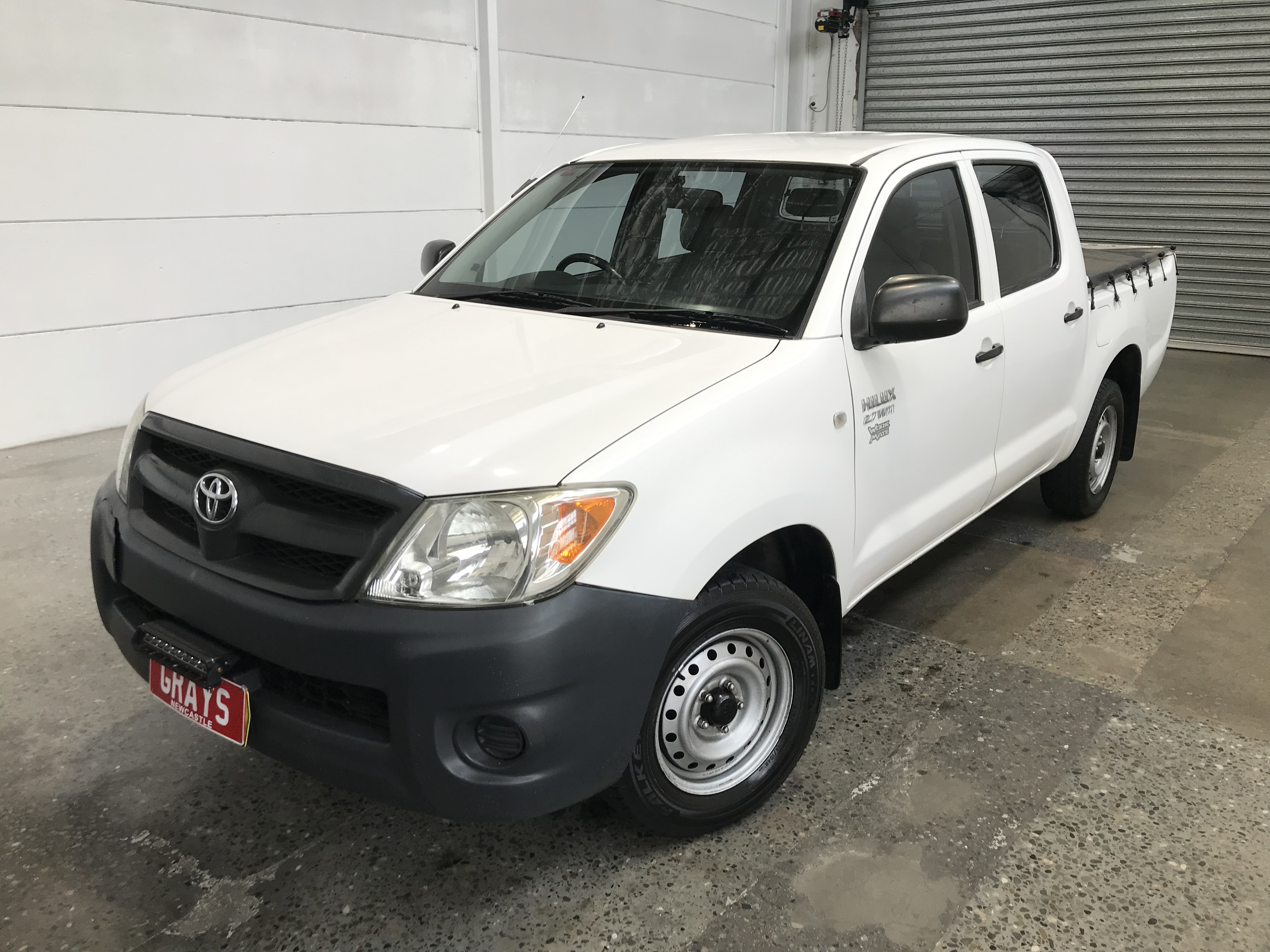 2007 Toyota Hilux 4x2 Workmate TGN16R Manual Dual Cab