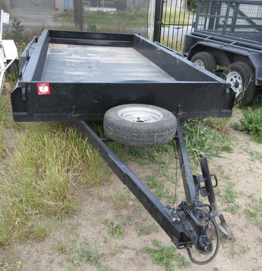 Tandem Trailer with Ramps