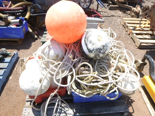 Quantity of Marine Bouys and Floats