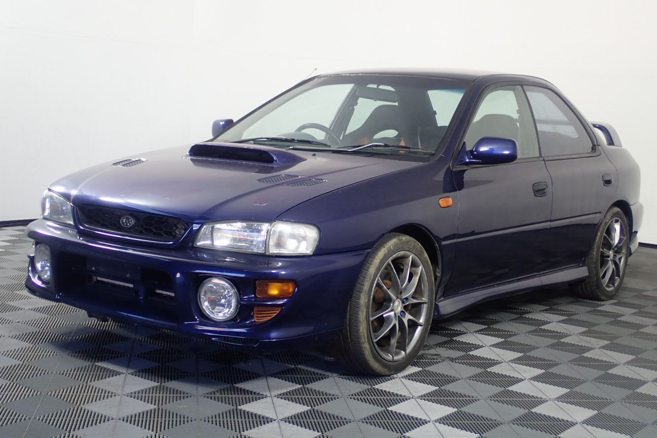 1998 Subaru Impreza WRX (AWD) Manual Sedan (WOVR-INSPECTED)