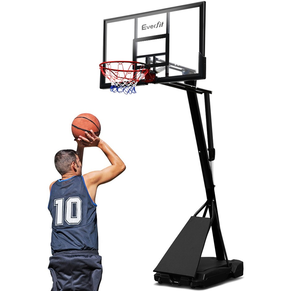 Everfit Pro Portable Basketball Stand System Ring Hoop Adjustable 3.05M