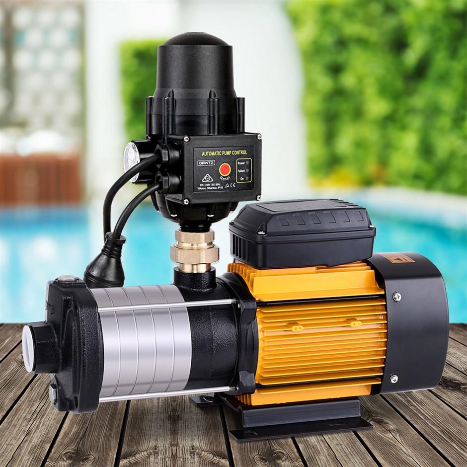 Giantz 2500W Multi Stage Water Pump Pressure Rain Tank House Irrigation
