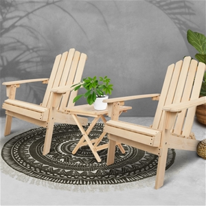 Gardeon Outdoor Chairs Table Set Lounge