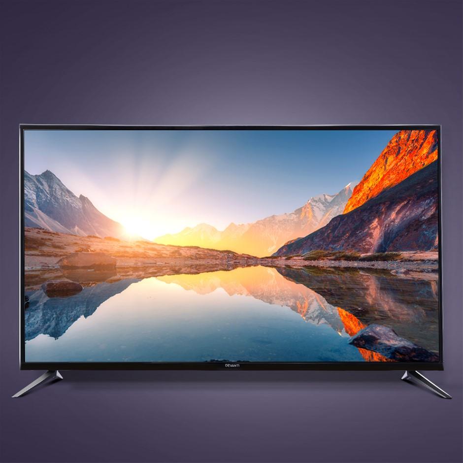 "Devanti Smart LED TV 43 Inch 43"" 4K UHD HDR LCD Slim Thin Screen"