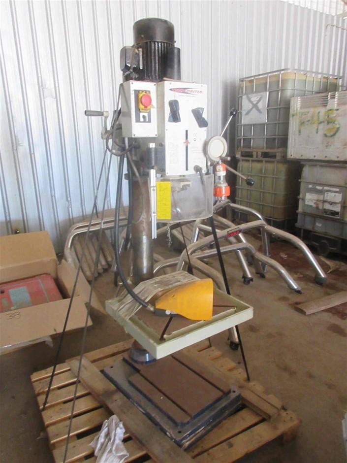 Trademaster TGD400-1PH 3 Phase Drill Press