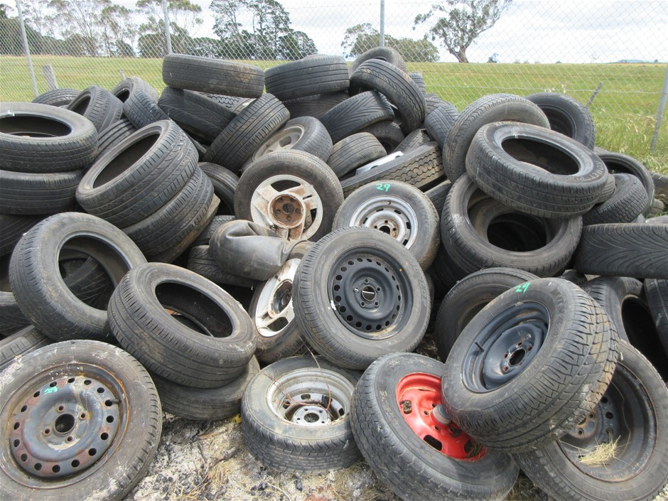 Assorted Car & Truck Rims
