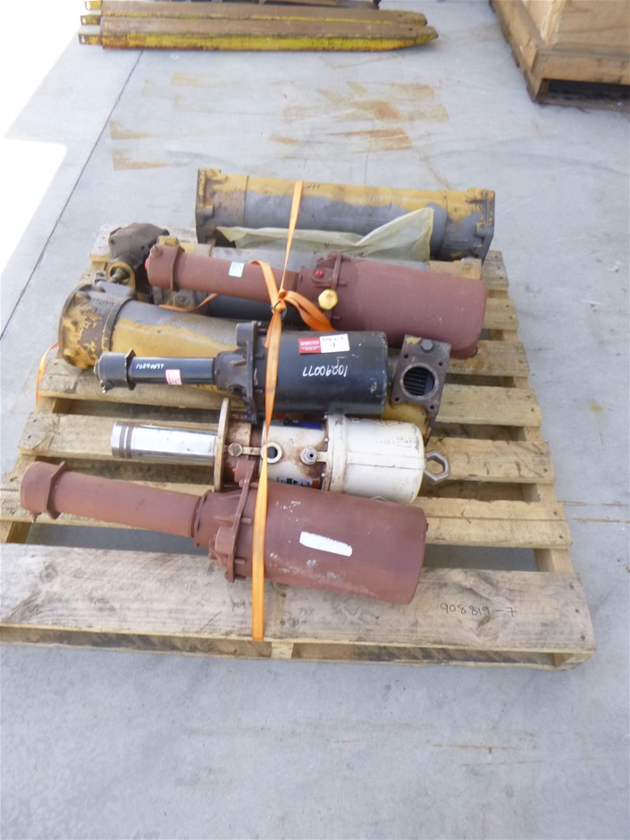 1 x Pallet Oil Coolers and Pumps