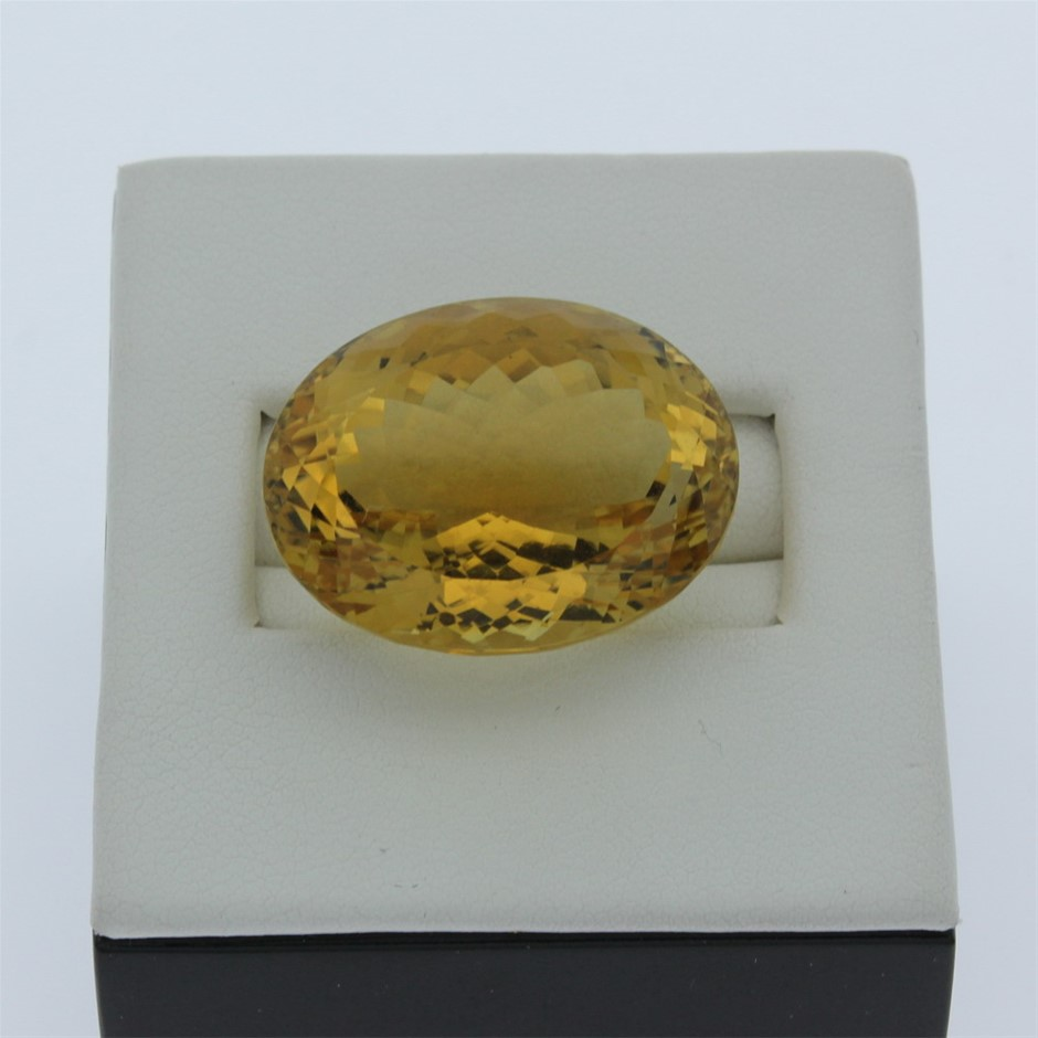 One Loose Citrine 62.20ct in Total