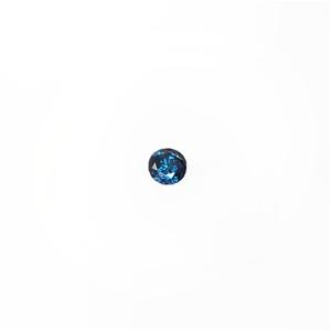 0.19ct Round brilliant cut blue diamond