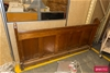 Wooden Church Pew Back Panel