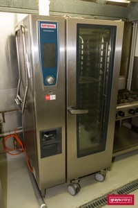 Rational SCC WE 201G Natural Gas Combi Oven