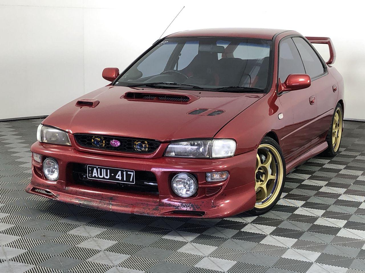 2000 Subaru Impreza WRX (AWD) Manual Sedan
