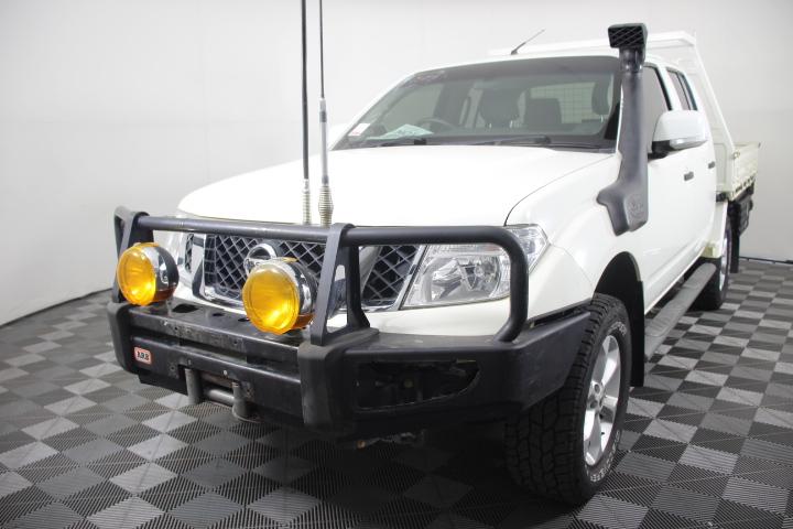 2011 (2012) Nissan Navara ST (4x4) D40 Turbo Diesel Automatic Dual Cab
