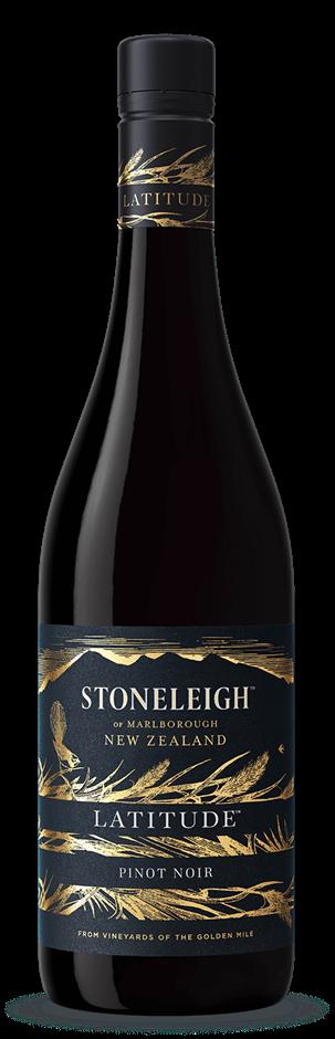 Stoneleigh `Latitude` Pinot Noir 2017 (6 x 750mL), Marlborough, NZ.