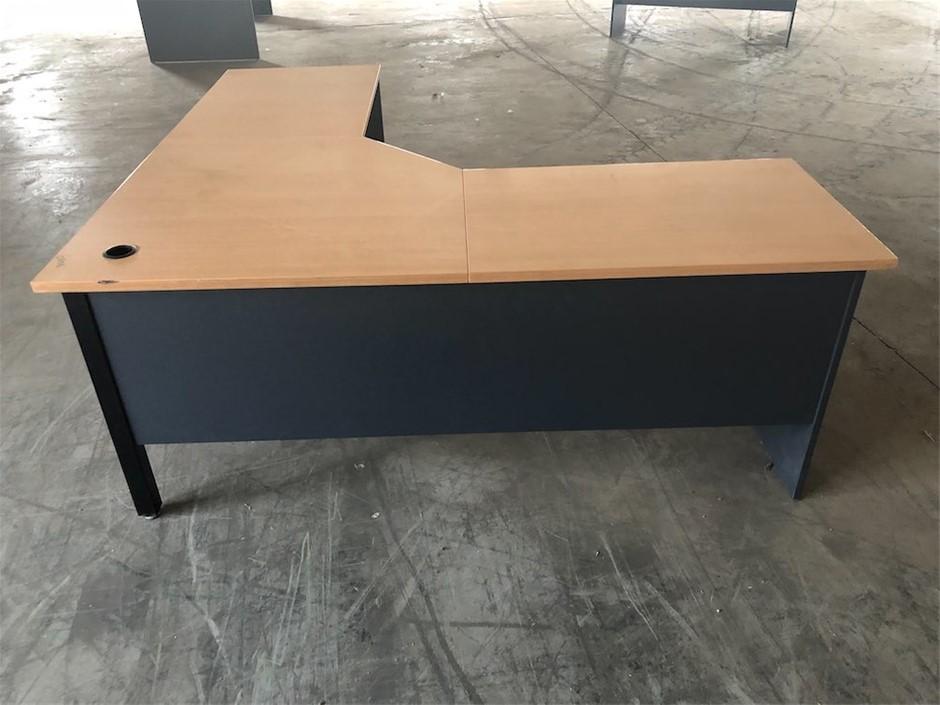 Large L Shaped Office Desk