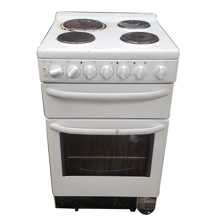 ELECTRIC 4 HOTPLATE 2 TIER OVEN WITH GRILL (268165-28)