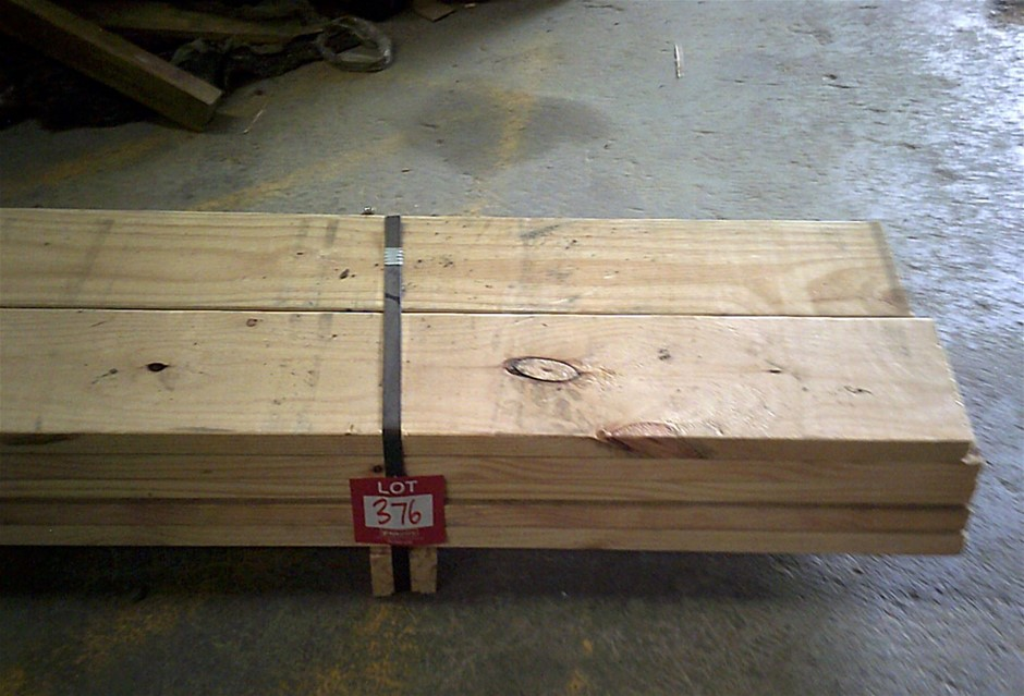 10 lengths of 190mm x 35mm F7 Treated Pine.