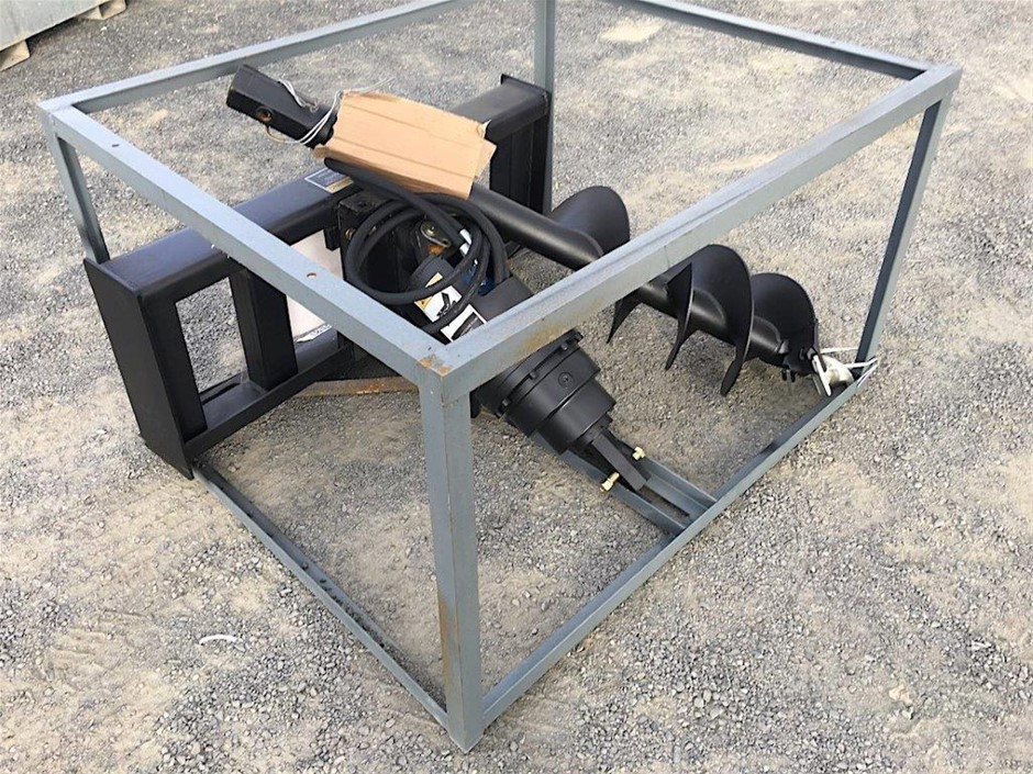 2019 Unused Auger Attachment to Suit Skid Steer Loader