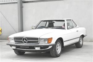 1985 Mercedes Benz 380 SL Automatic Conv