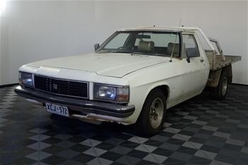 1981 Holden WB Manual Ute