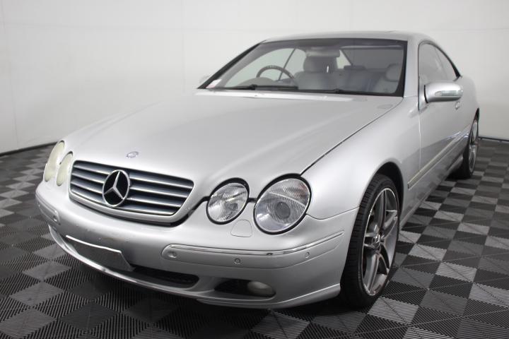 2000 Mercedes Benz CL500 5.0lt V8 Automatic Coupe