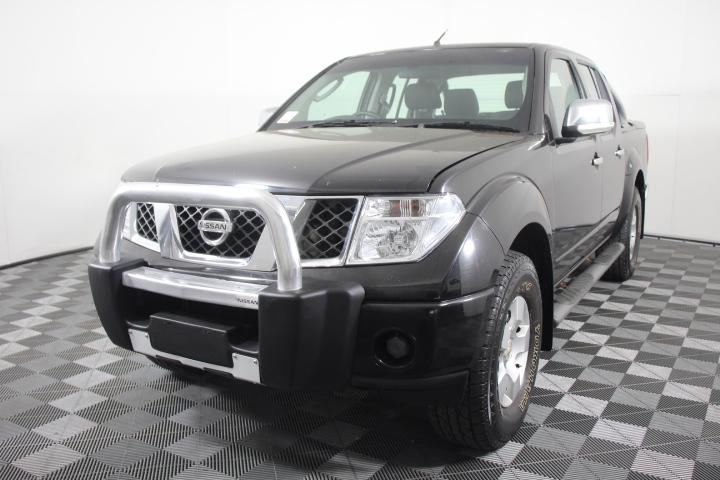 2007 (2008) Nissan Navara ST-X (4x4) D40 Turbo Diesel Dual Cab