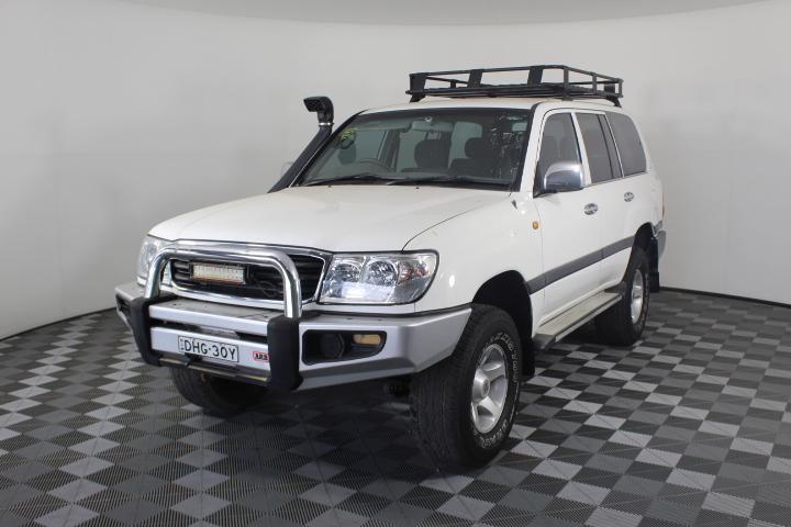 1999 Toyota Landcruiser GXL (4x4) HZJ105R Automatic 8 Seats Wagon