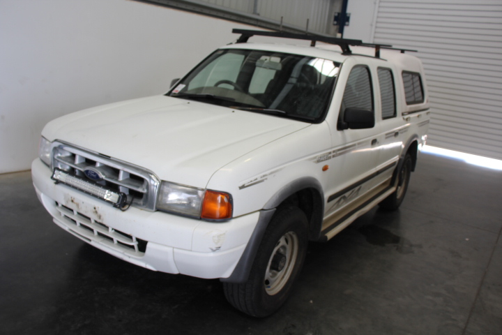 2000 Ford Courier XL (4x4) Turbo Diesel Dual Cab