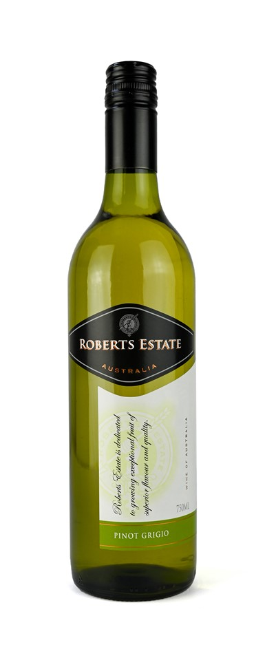 Roberts Estate Pinot Grigio 2019 (12 x 750mL) SA